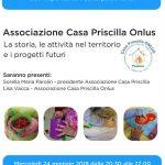 Presentazione Associazione Casa Priscilla ONLUS