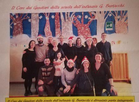 Il coro dei genitori della scuola dell'infanzia G. Bertacchi